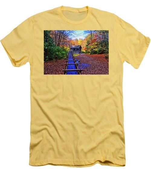 Mingus Mill 002 Men's T-Shirt (Slim Fit) by George Bostian