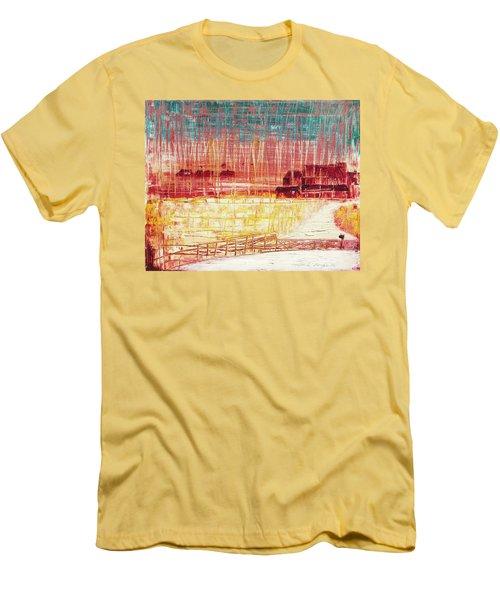 Mixville Road Men's T-Shirt (Athletic Fit)