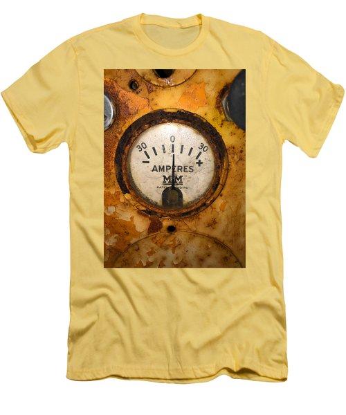 Mm Amperes Gauge Men's T-Shirt (Athletic Fit)