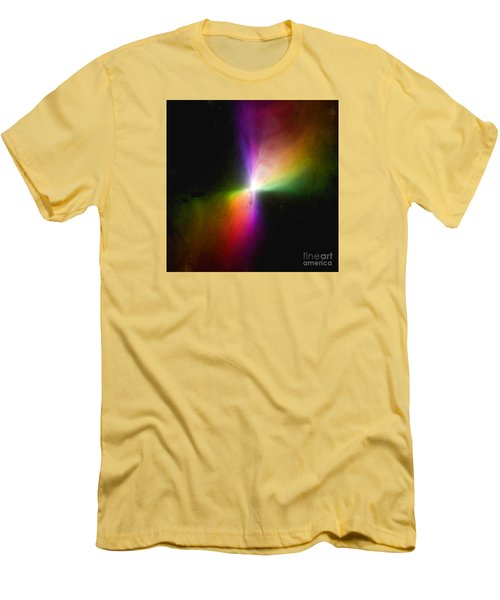 Modern Art- The Boomerang Nebula - Heavenly Bodies Men's T-Shirt (Athletic Fit)