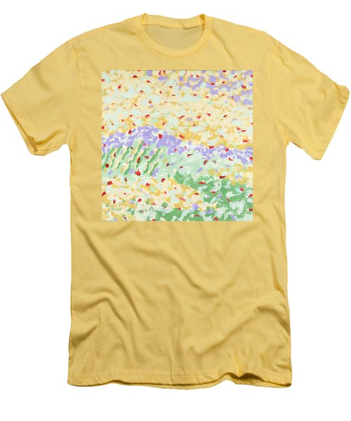 Modern Landscape Painting 3 Men's T-Shirt (Slim Fit) by Gordon Punt