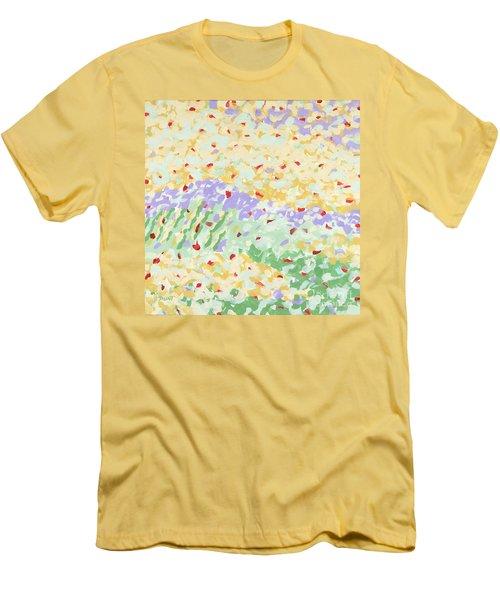 Modern Landscape Painting 3 Men's T-Shirt (Athletic Fit)