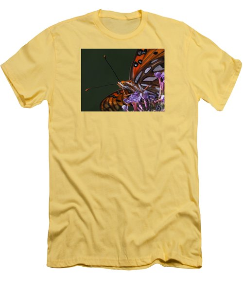 Monarch Butterfly Closeup Men's T-Shirt (Athletic Fit)