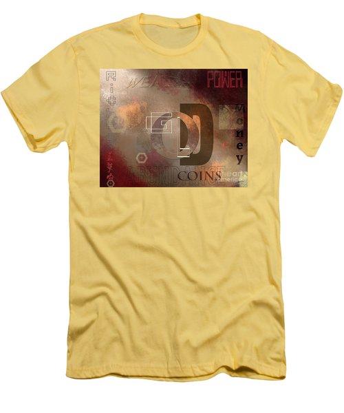 Money Gold Abundance Men's T-Shirt (Athletic Fit)