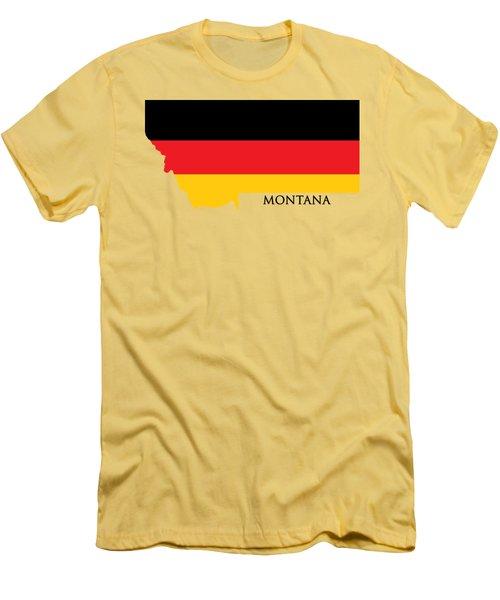 Montana German Men's T-Shirt (Athletic Fit)