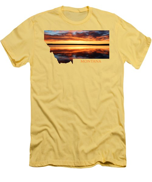 Montana Glory Men's T-Shirt (Athletic Fit)
