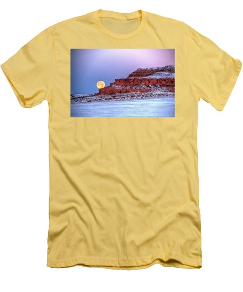 Moon Of The Popping Trees Men's T-Shirt (Athletic Fit)
