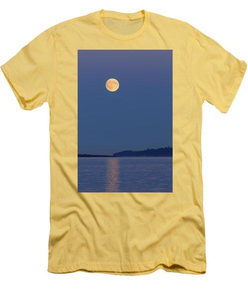 Moonlight - 365-224 Men's T-Shirt (Slim Fit) by Inge Riis McDonald