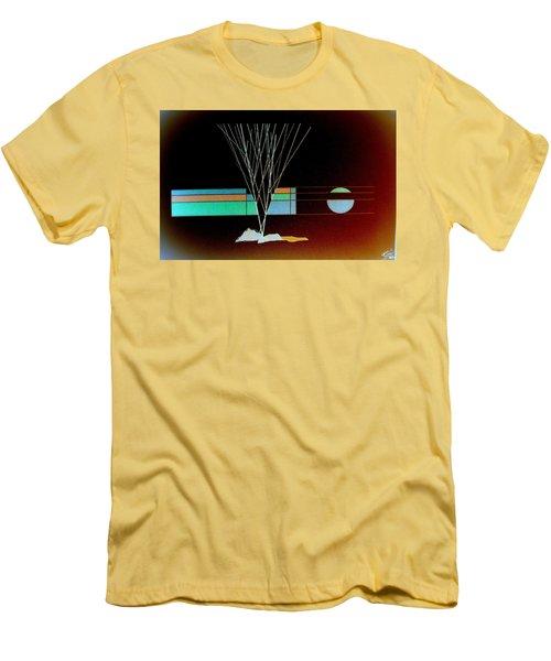 Moonlight Memories Men's T-Shirt (Athletic Fit)
