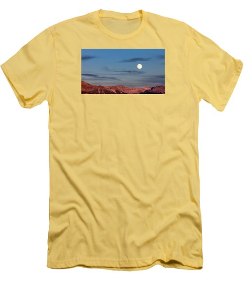 Moonrise With Afterglow Men's T-Shirt (Athletic Fit)