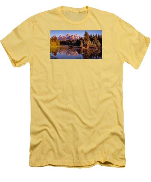 Moose Tetons Men's T-Shirt (Athletic Fit)