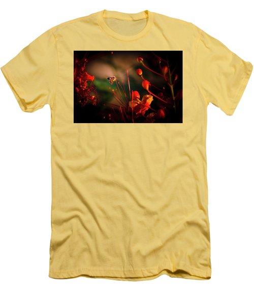 Morning Flight Men's T-Shirt (Slim Fit) by Mark Dunton