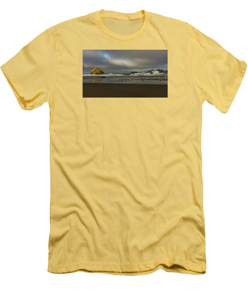 Morning Light On The Beach Men's T-Shirt (Athletic Fit)