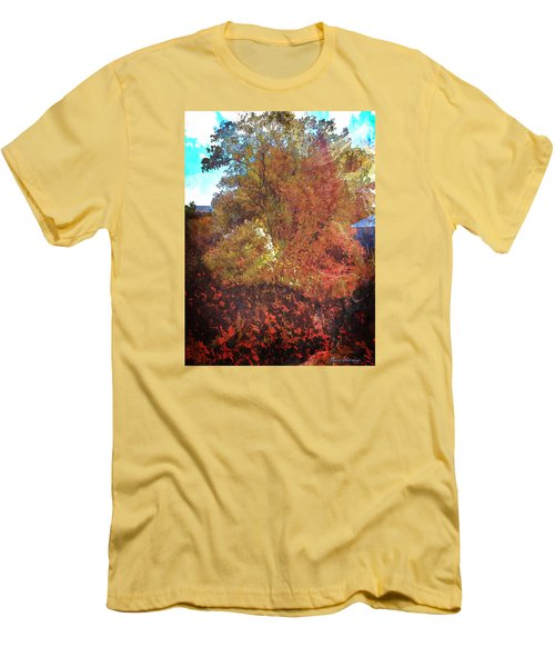 Morning Medely Men's T-Shirt (Slim Fit) by Anastasia Savage Ealy