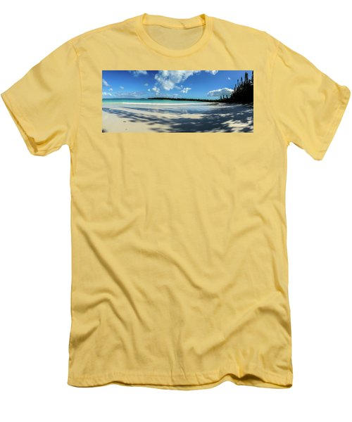 Morning Shadows Ile Des Pins Men's T-Shirt (Athletic Fit)
