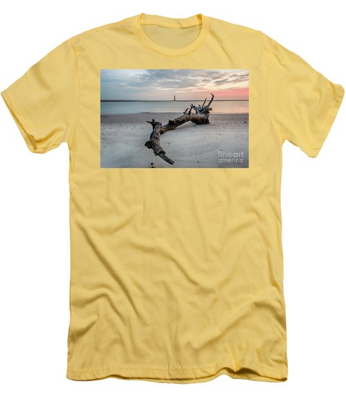 Morris Island Men's T-Shirt (Athletic Fit)