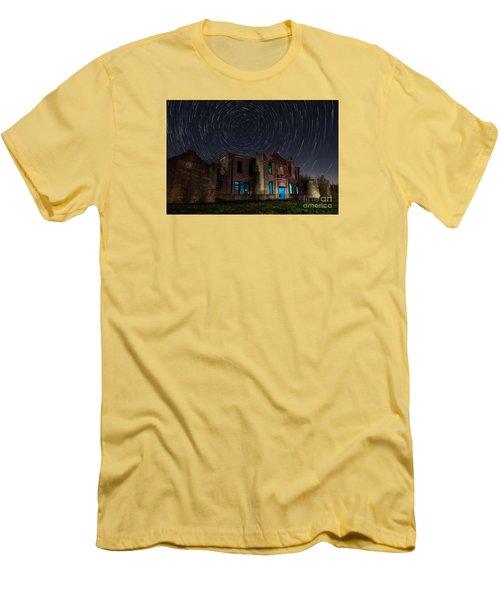 Mosheim Texas Schoolhouse Men's T-Shirt (Slim Fit) by Keith Kapple
