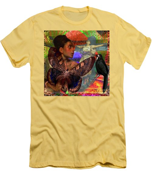 Mother Earth Persecution Men's T-Shirt (Slim Fit) by Joseph Mosley