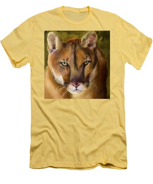 Mountain Lion Men's T-Shirt (Slim Fit)