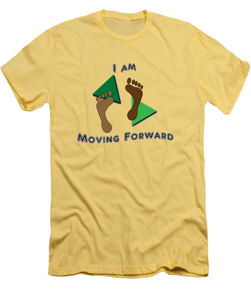 Moving Forward Men's T-Shirt (Athletic Fit)