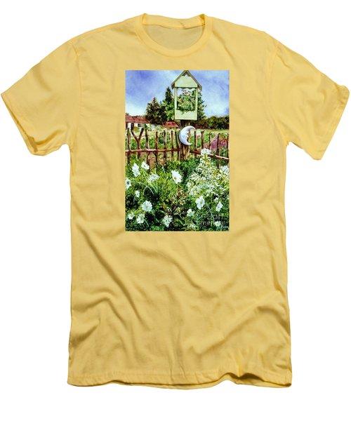 Mr Moon's Garden Men's T-Shirt (Athletic Fit)