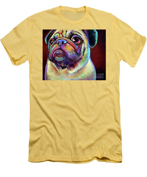 Mr. Pugnacious  Men's T-Shirt (Athletic Fit)