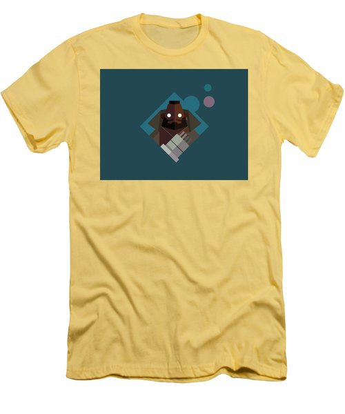 Men's T-Shirt (Slim Fit) featuring the digital art Mr. Wallace by Michael Myers