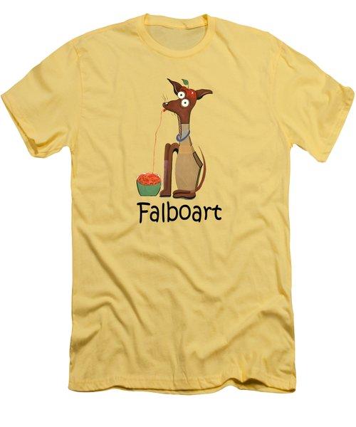 My Applehead Chiwawa Men's T-Shirt (Slim Fit) by Anthony Falbo
