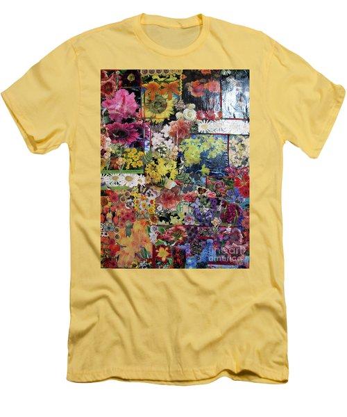 My Garden Men's T-Shirt (Slim Fit) by Sandy McIntire