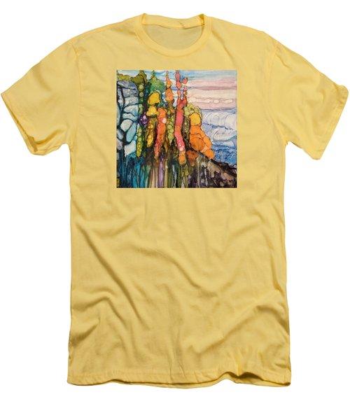 Mystical Garden Men's T-Shirt (Athletic Fit)