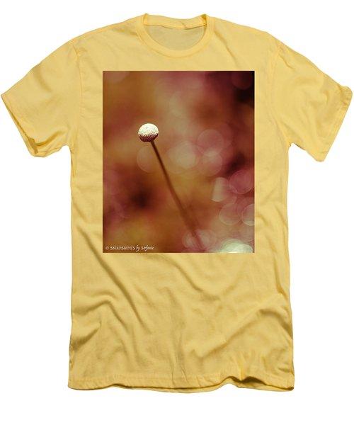 Naked Dandelion Men's T-Shirt (Slim Fit) by Stefanie Silva