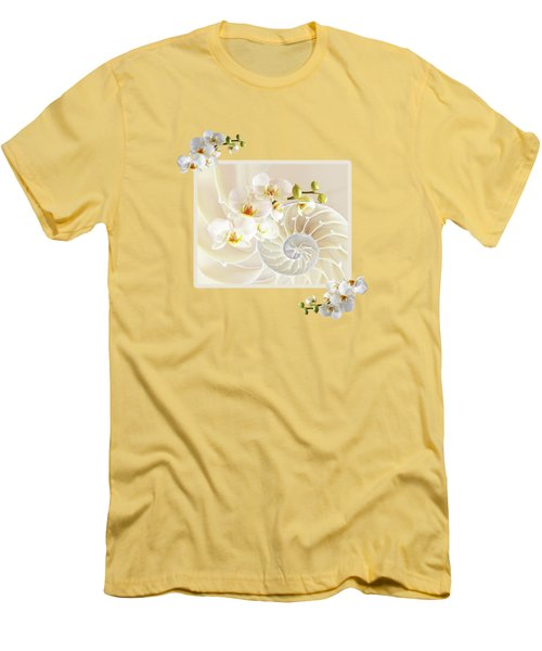 Natural Fusion Men's T-Shirt (Slim Fit) by Gill Billington