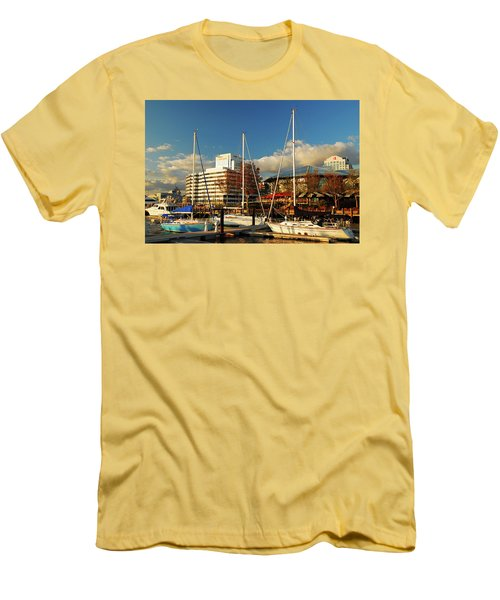 Nautical Norfolk  Men's T-Shirt (Athletic Fit)