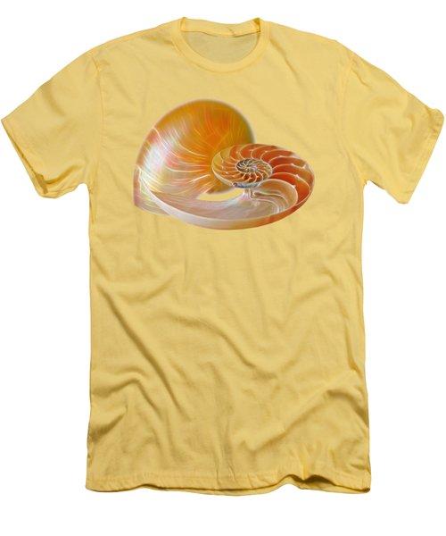 Nautilus Golden Glow Men's T-Shirt (Athletic Fit)