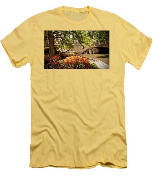 Navarro Street Bridge Men's T-Shirt (Slim Fit) by Steven Sparks