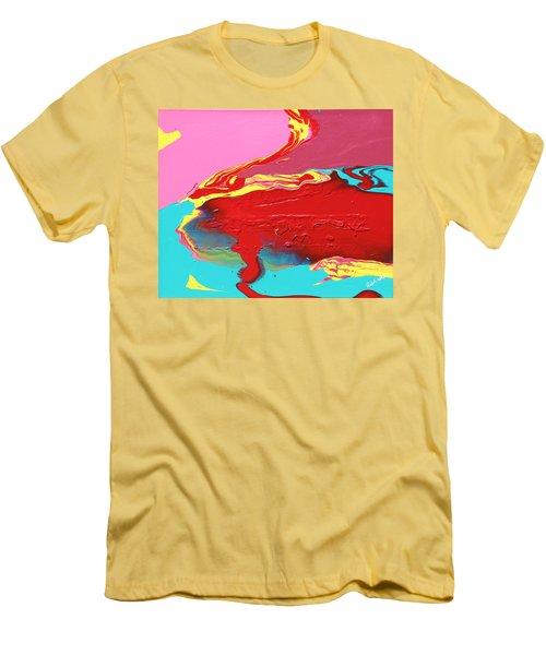 Neon Tide Men's T-Shirt (Athletic Fit)