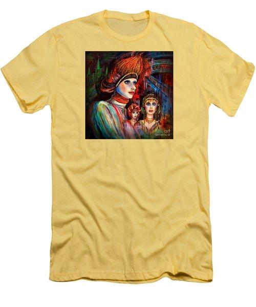 New Orleans Live Mannequins Men's T-Shirt (Athletic Fit)