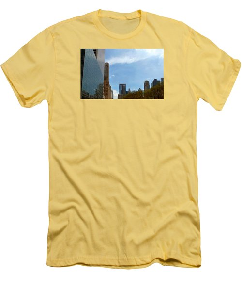 New York Men's T-Shirt (Slim Fit) by Helen Haw