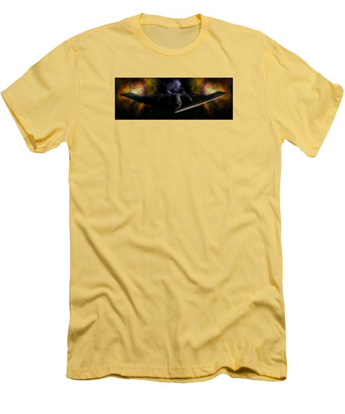 Men's T-Shirt (Slim Fit) featuring the photograph Nigfhtstalker by Mario Carini