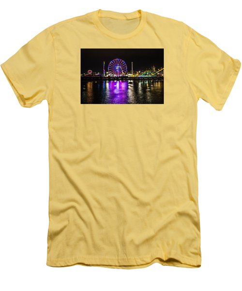 Night At The Carnival Men's T-Shirt (Athletic Fit)