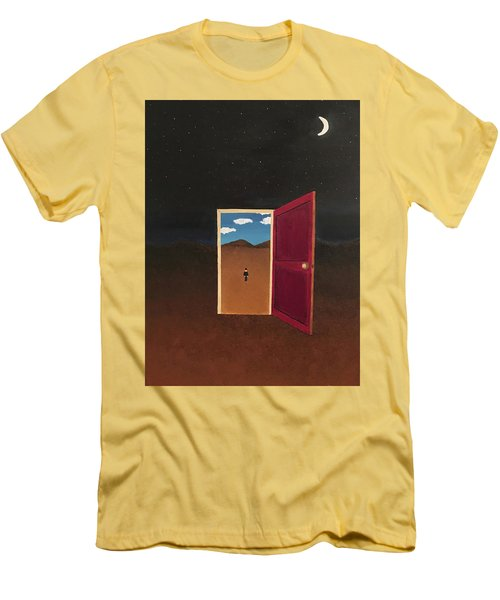 Night Into Day Men's T-Shirt (Slim Fit) by Thomas Blood