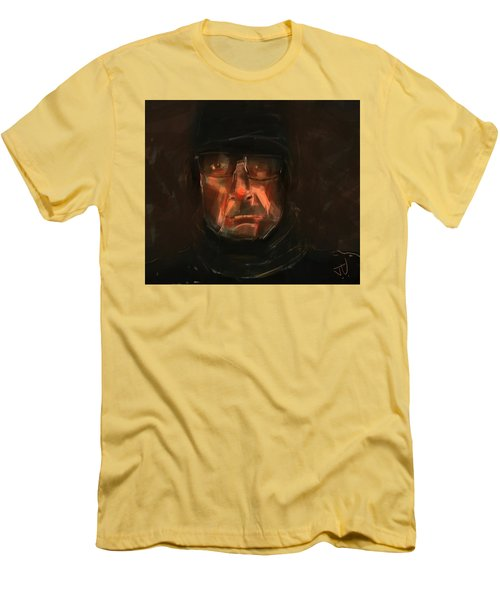 Men's T-Shirt (Slim Fit) featuring the painting Night Watch by Jim Vance