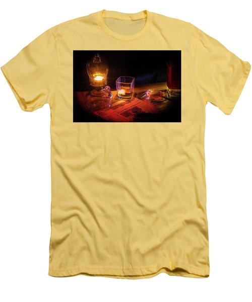 Night Work Men's T-Shirt (Slim Fit) by Mark Dunton