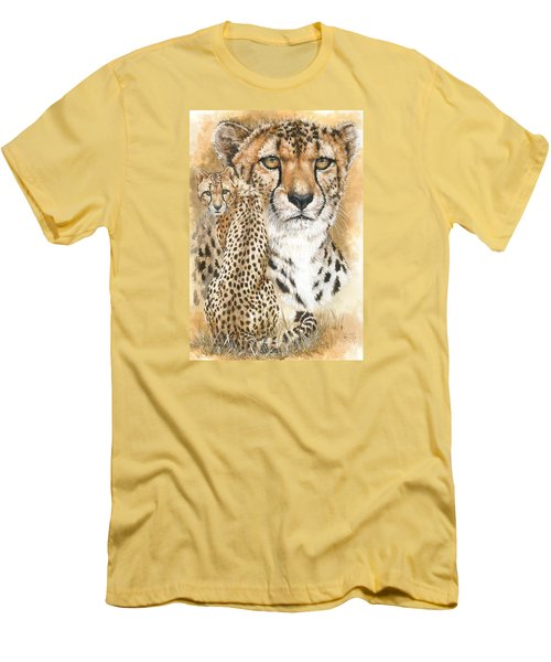 Nimble Men's T-Shirt (Slim Fit) by Barbara Keith