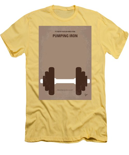 No707 My Pumping Iron Minimal Movie Poster Men's T-Shirt (Athletic Fit)