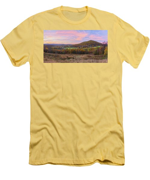 November Glowing Sky Men's T-Shirt (Athletic Fit)