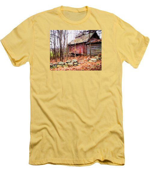 Men's T-Shirt (Slim Fit) featuring the photograph November Stark by Betsy Zimmerli