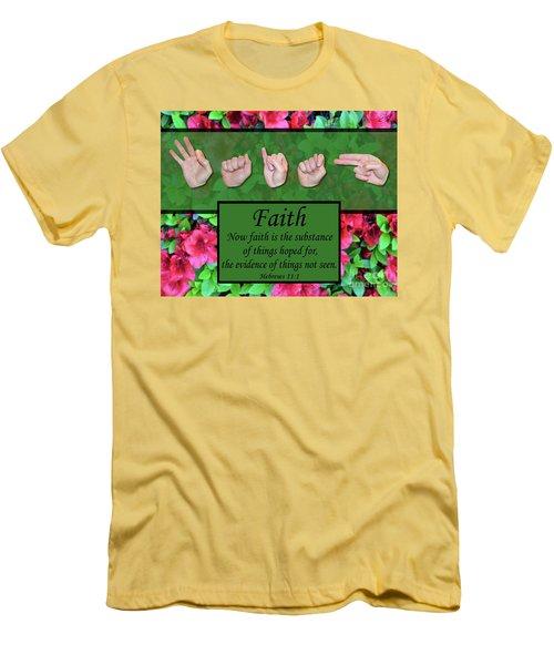 Now Faith Men's T-Shirt (Athletic Fit)