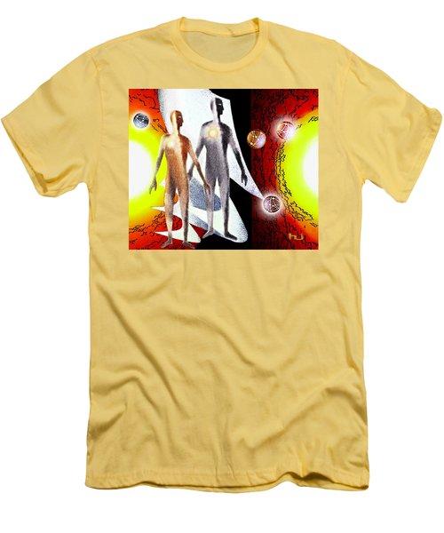Observing Men's T-Shirt (Athletic Fit)