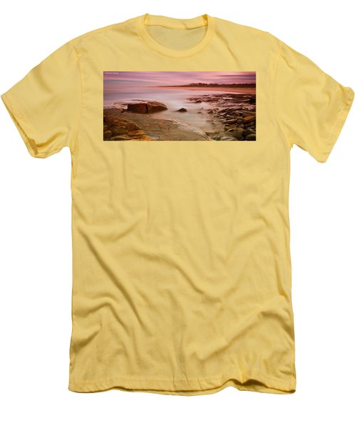 Ocean Beauty 801 Men's T-Shirt (Slim Fit) by Kevin Chippindall